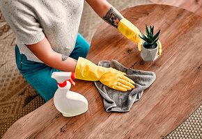 Кондиционер, обувная губка и ещё 7 лайфхаков, чтобы держать пыль под контролем
