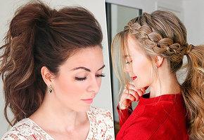 10 стильных причёсок с хвостом — для тех, кто всегда спешит