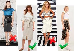 Юбки-враги: почему некоторые юбки увеличивают визуально живот, а некоторые — нет