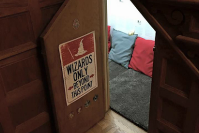 Мама сделала Тайную Комнату Гарри Поттера длясвоих детей