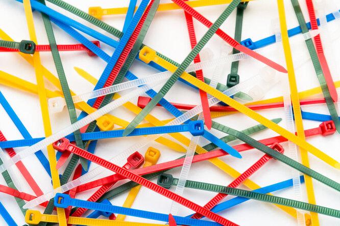 10 полезных применений кабельных стяжек — иэто нето, очем вы подумали!