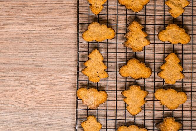 Как приготовить пряное имбирное печенье