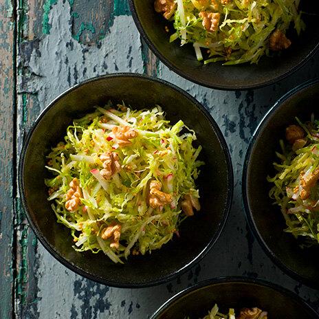 Рецепт салата с капустой и яблоками