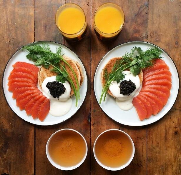 Подача завтрака