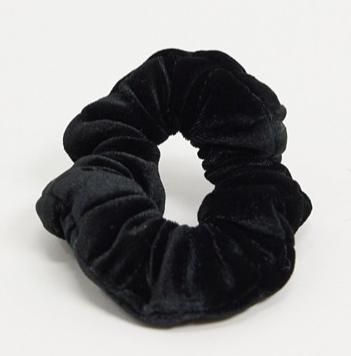 Черная бархатная резинка для волос, Asos, 490 руб