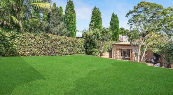 За домом есть большой двор