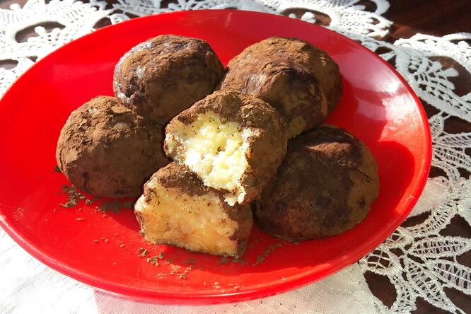 Мини-пирожное «Картошка белая»