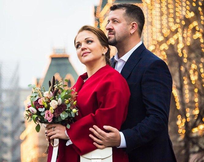 Марина Девятова с мужем Алексеем Пигуренко