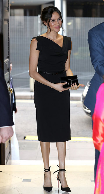 Меган Маркл с сумкой Gucci