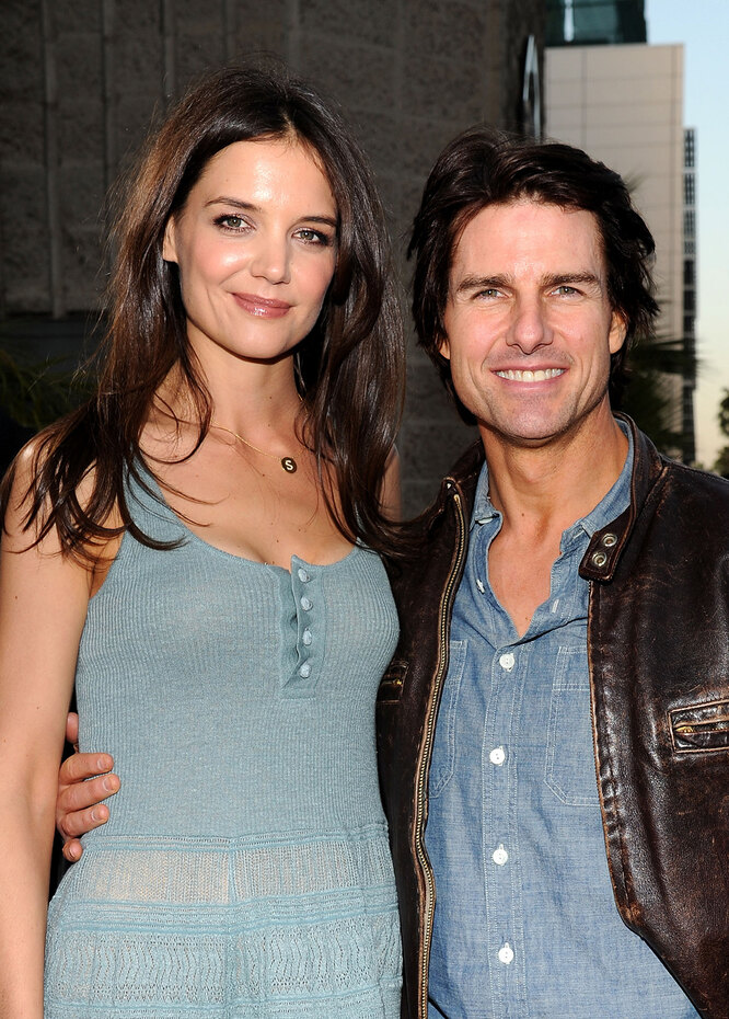 Tom Cruise married Katie Holmes