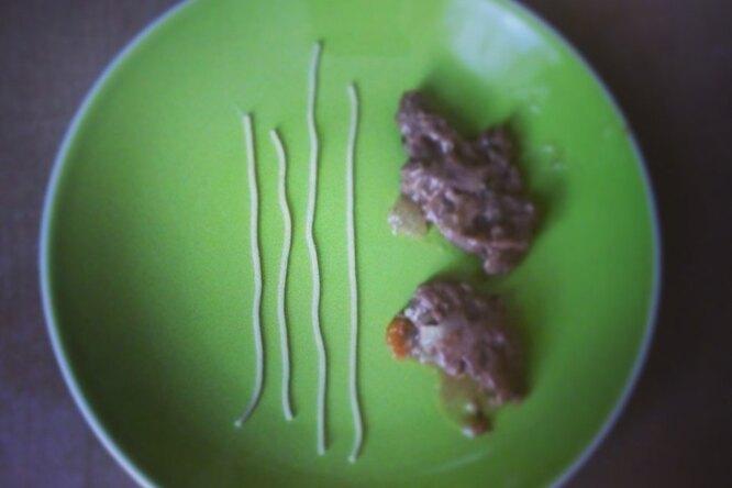 Соевое мясо в чесночно-соевом соусе