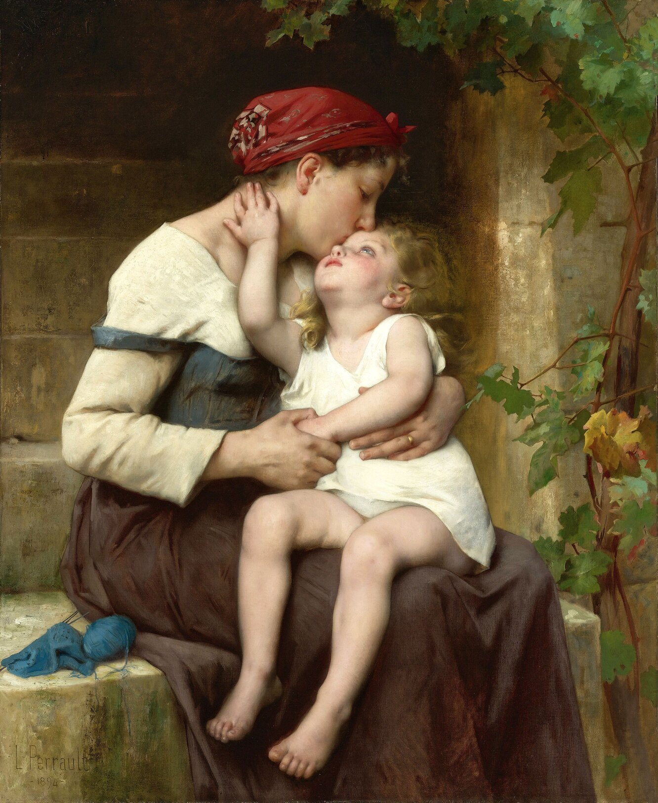 Леон-Жан-Базиль Перро, «Мать с ребенком», 1894