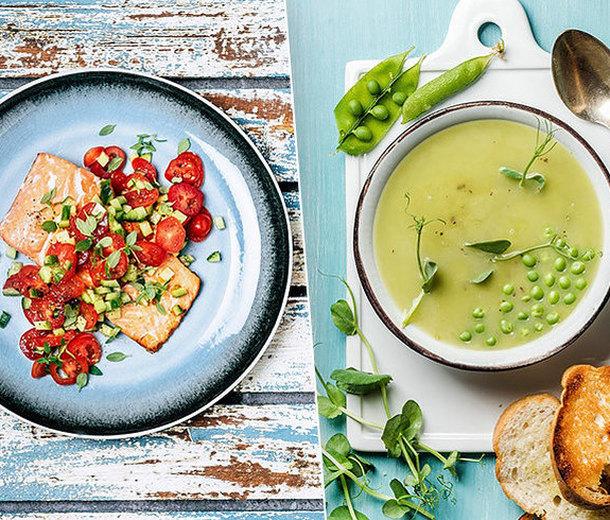 Смузи, суп изгорошка идругие простые рецепты ПП-блюд