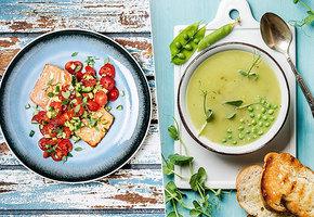 Смузи, суп из горошка и другие простые рецепты ПП-блюд