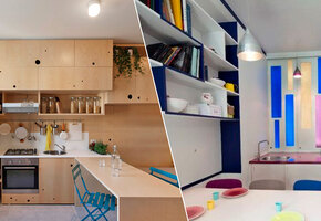 45 маленьких кухонь, в которых есть всё необходимое