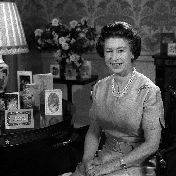 Королева Елизавета II, из архива аккаунта Кенсингтонского дворца