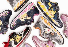 Geox выпустил кроссовки с покемонами