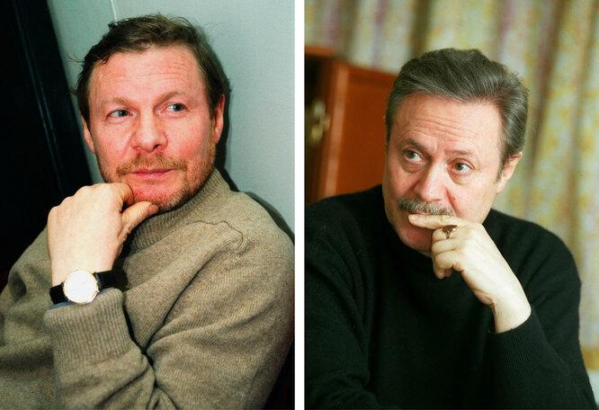 Виталий и Юрий Соломины