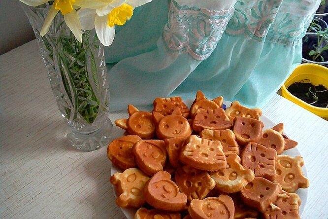 Венские вафли к завтраку