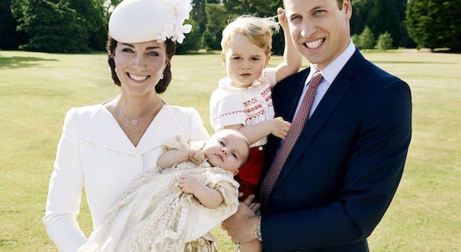 Фото скрещения принцессы Шарлотты