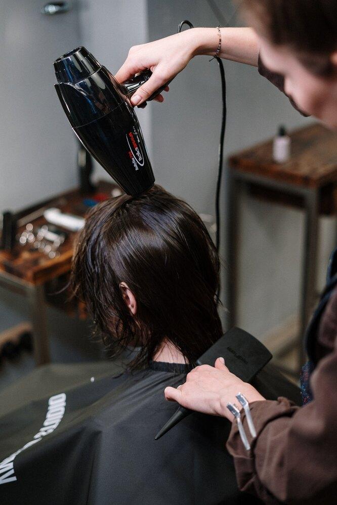 Сушим волосы как в салоне