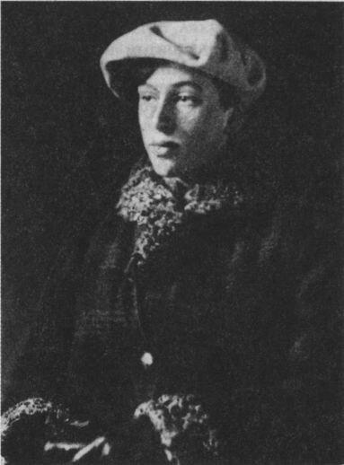 Нина Бальмонт. 1920 г
