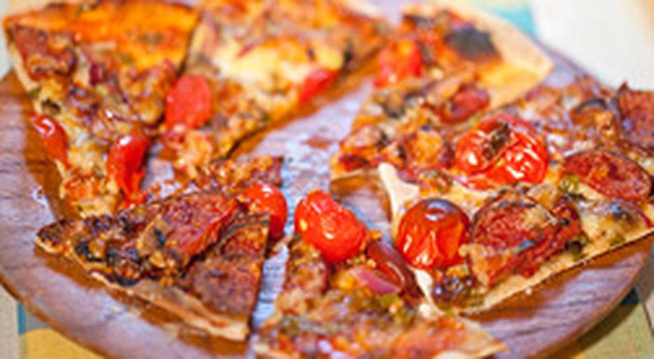 Как приготовить пиццу заполчаса