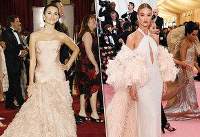 Окрылились: Леди Гага, Пенелопа Крус и другие звезды в нарядах с перьями