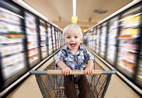 5 способов пойти с ребенком в супермаркет и не разориться