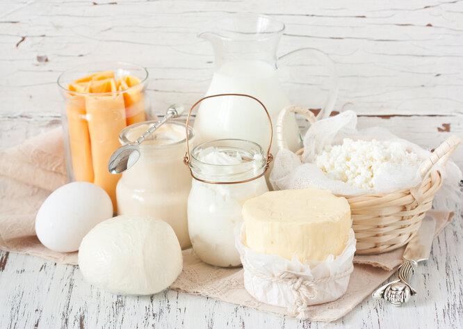 Кисломолочные продукты, пп завтрак для похудения