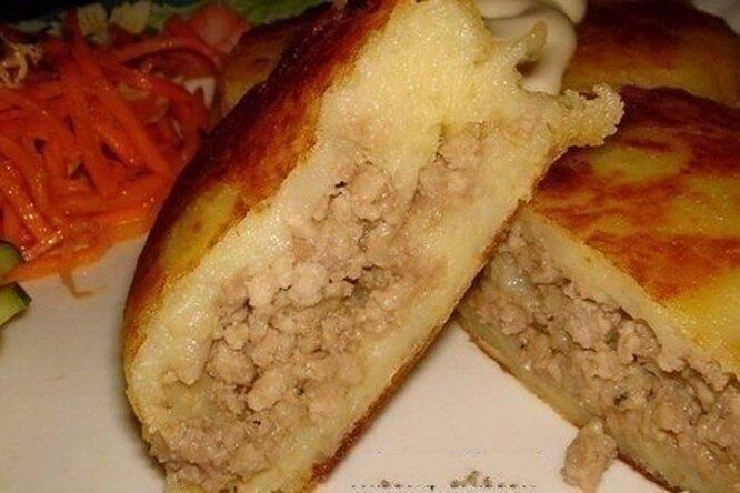 Картофельные зразы с мясной начинкой