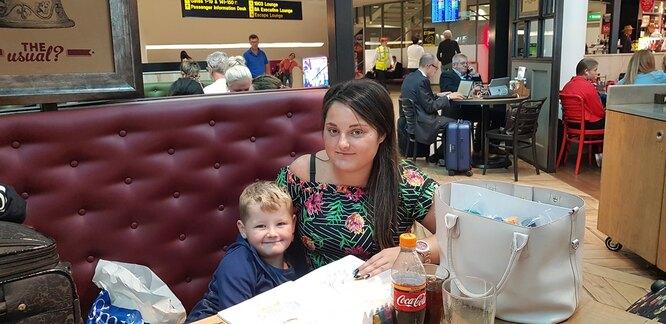 Джоди с сыном