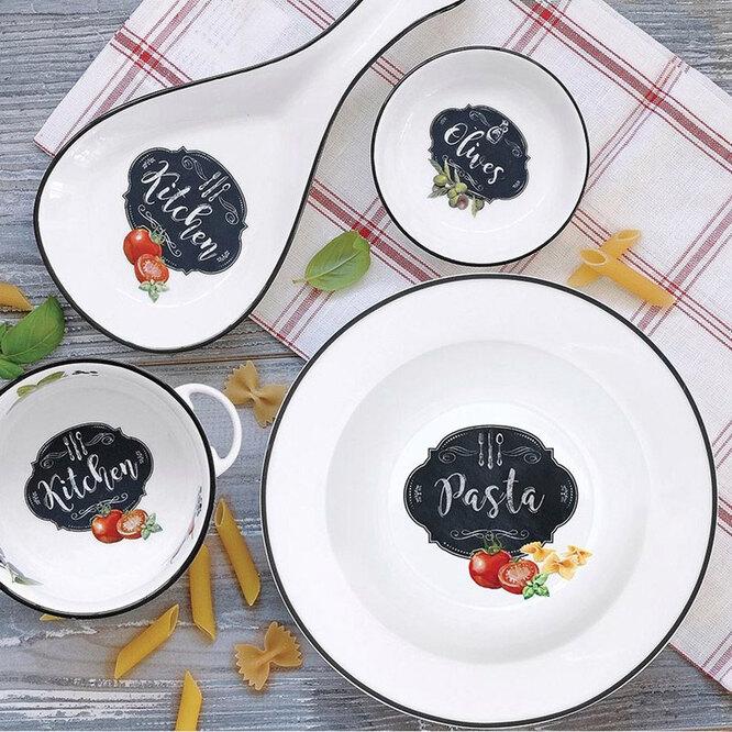 Набор тарелок EASY LIFE KITCHEN BASIC PASTA, 4ШТ «ЕВродом», 3090 руб.