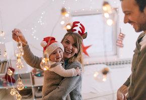 Как украсить дом к празднику и при этом не умереть