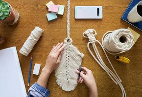 Макраме снова в топе модных хобби: что сейчас плетут и где так научиться?