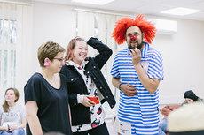 Нюта Федермессер ибольничный клоун Константин Седов общаются ссемьями