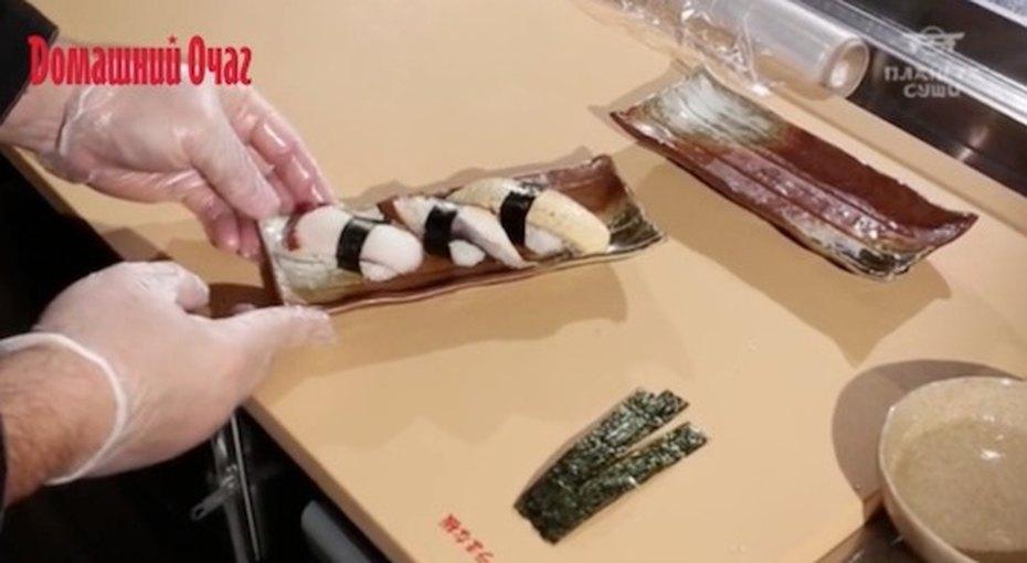 Как приготовить суши. Видео мастер-класс