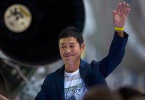 Бизнесмен из Японии ищет спутницу для полета к Луне