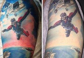 Что это было? Блогеры показали, как изменились их тату со временем
