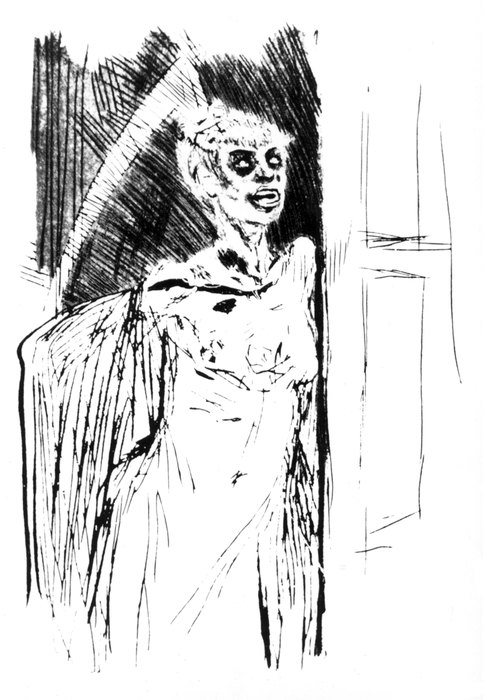 «Заболевания, передаваемые половым путем». Рисунок Фелисьена Ропса