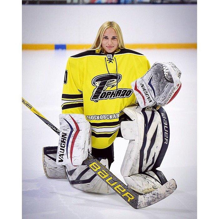 вратарь женской сборной рф по хоккею фото тюняева свежие
