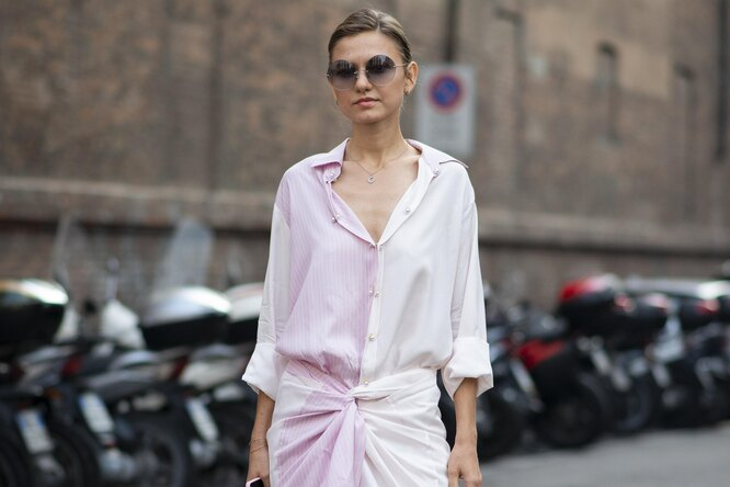 Платье-рубашка – главный модный герой лета 2019