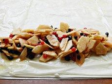 Штрудель с яблоками и смородиной - рецепт пошаговый с фото