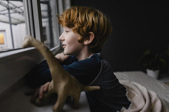 Мальчик и его динозавр