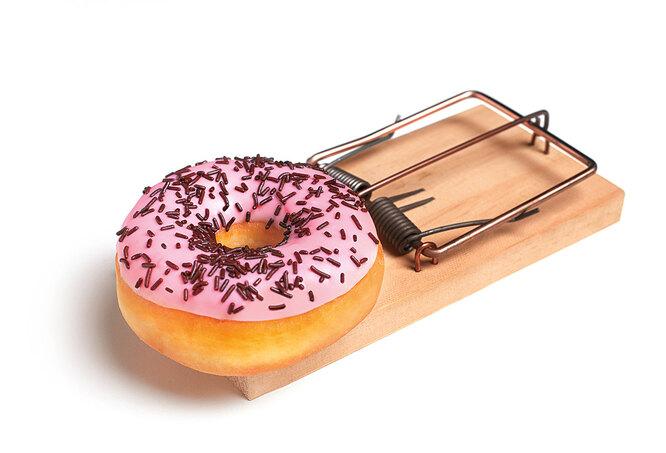 капкан, пончик