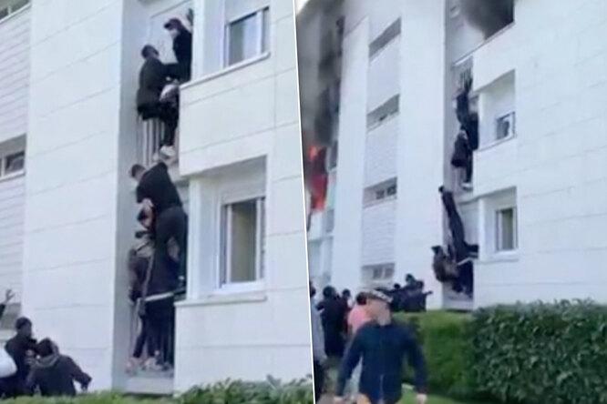Во Франции мигранты спасли семью изпожара имогут получить потрясающую награду