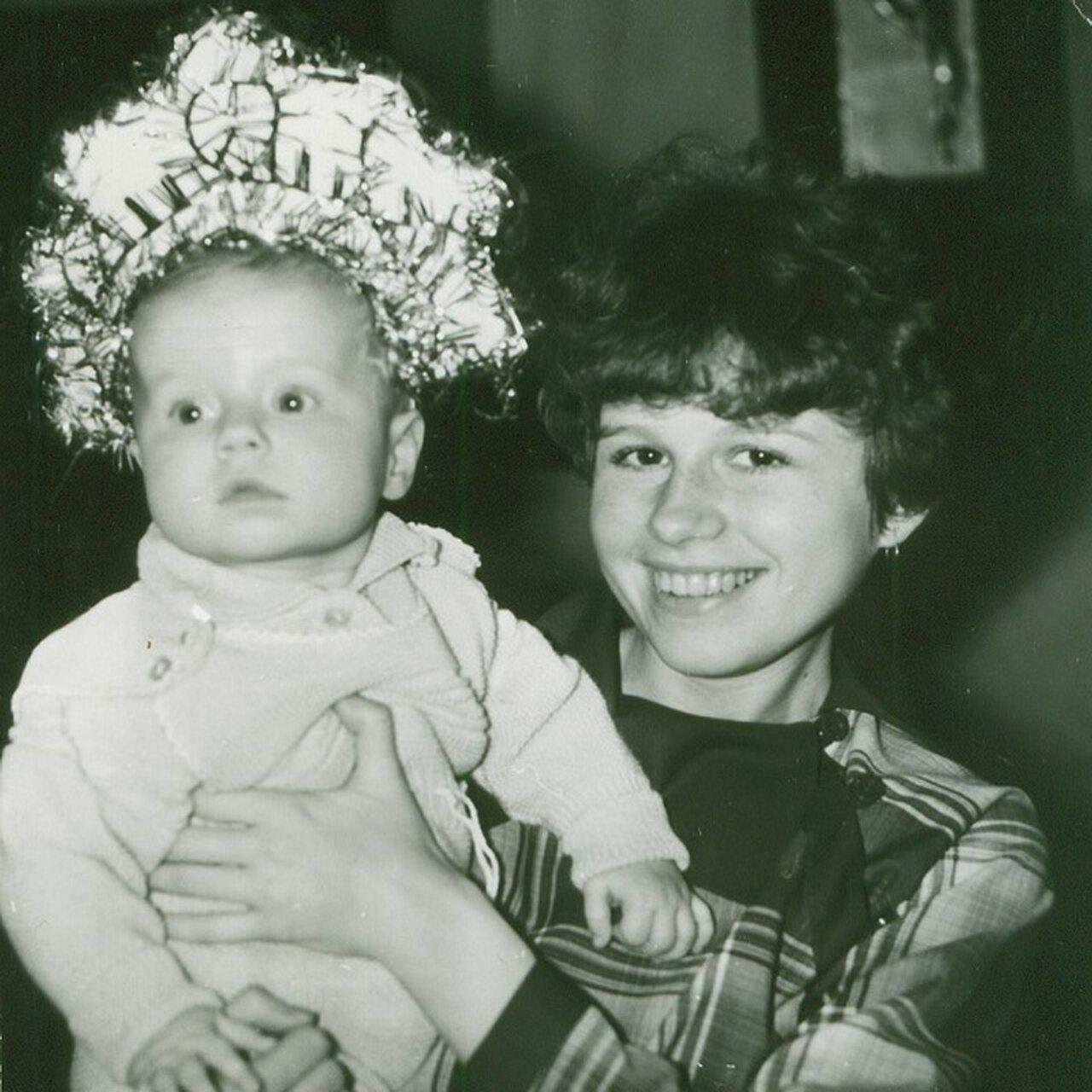 Юлия Савичева с мамой