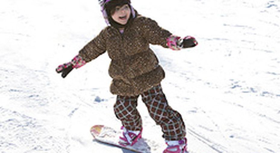 Как научить ребенка кататься насноуборде