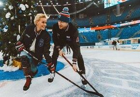 Жены хоккеистов — выходят на лед, дерутся, снимаются в кино, играют в теннис