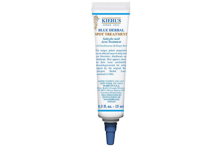 Гель длялокального применения дляпроблемной кожи ссалициловой кислотой Blue Herbal Spot Treatment, Kiehl's.